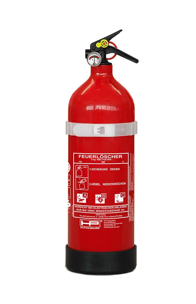 auto feuerl scher 2 kg pulver f llung fire extinguisher ebay. Black Bedroom Furniture Sets. Home Design Ideas