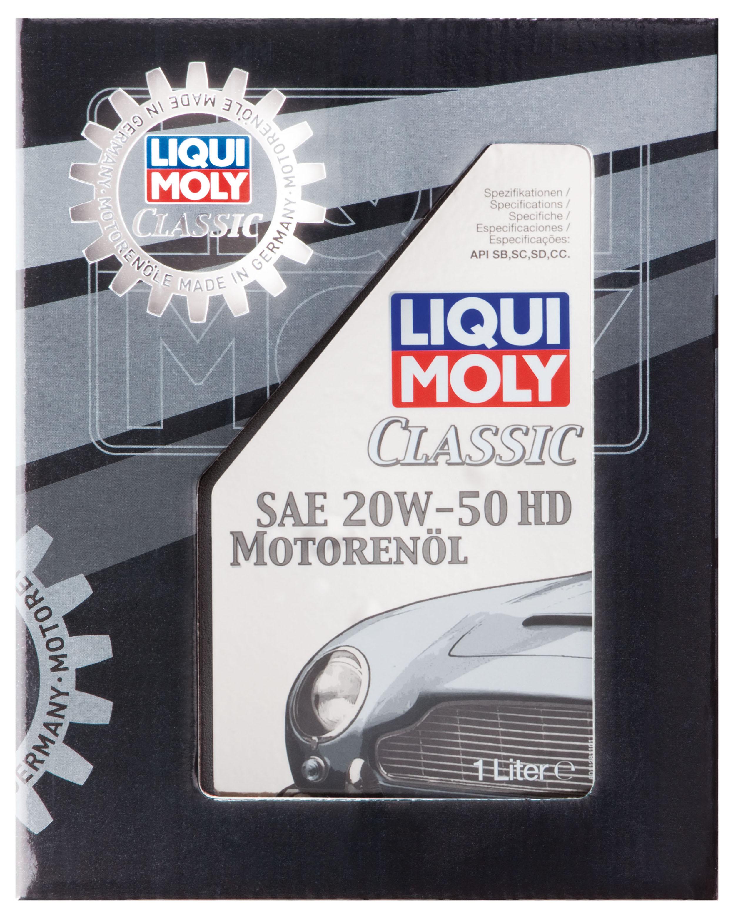 liqui moly 1128 classic motoren l sae 20w 50 hd ab baujahr. Black Bedroom Furniture Sets. Home Design Ideas