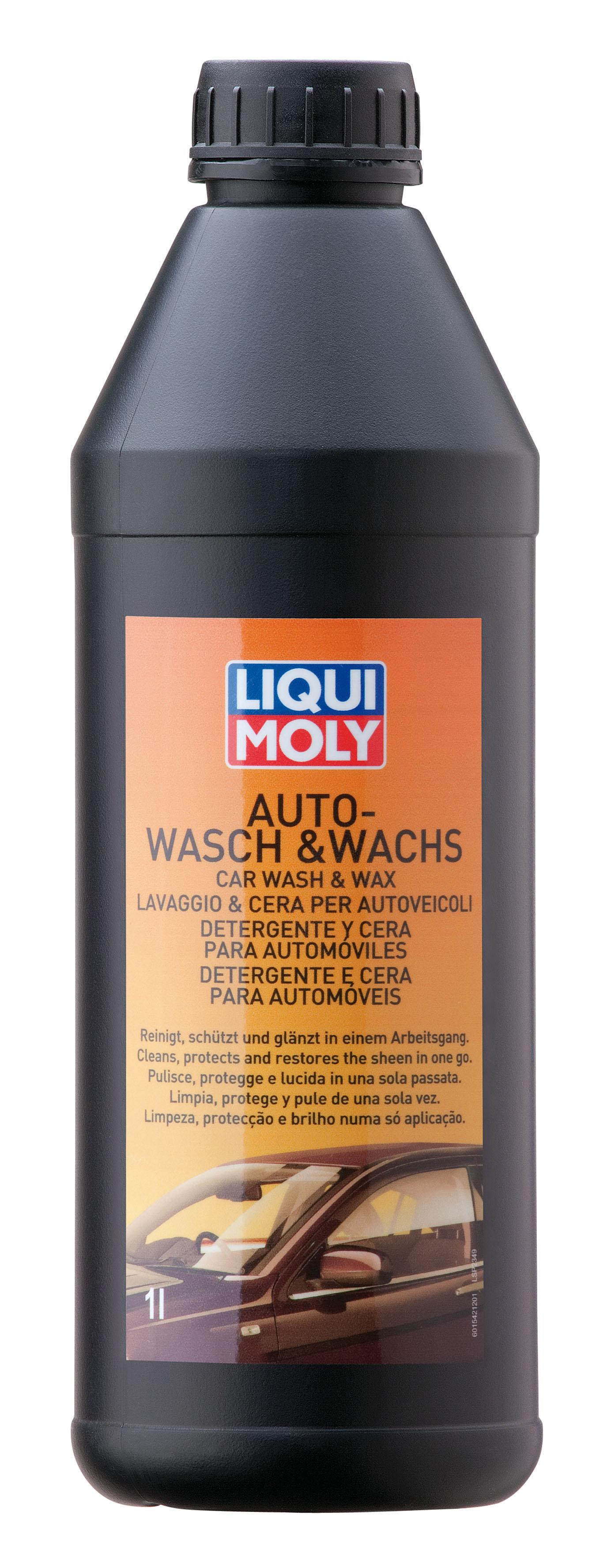 liqui moly 1542 auto wasch wachs pflege reinigung 1l ebay. Black Bedroom Furniture Sets. Home Design Ideas