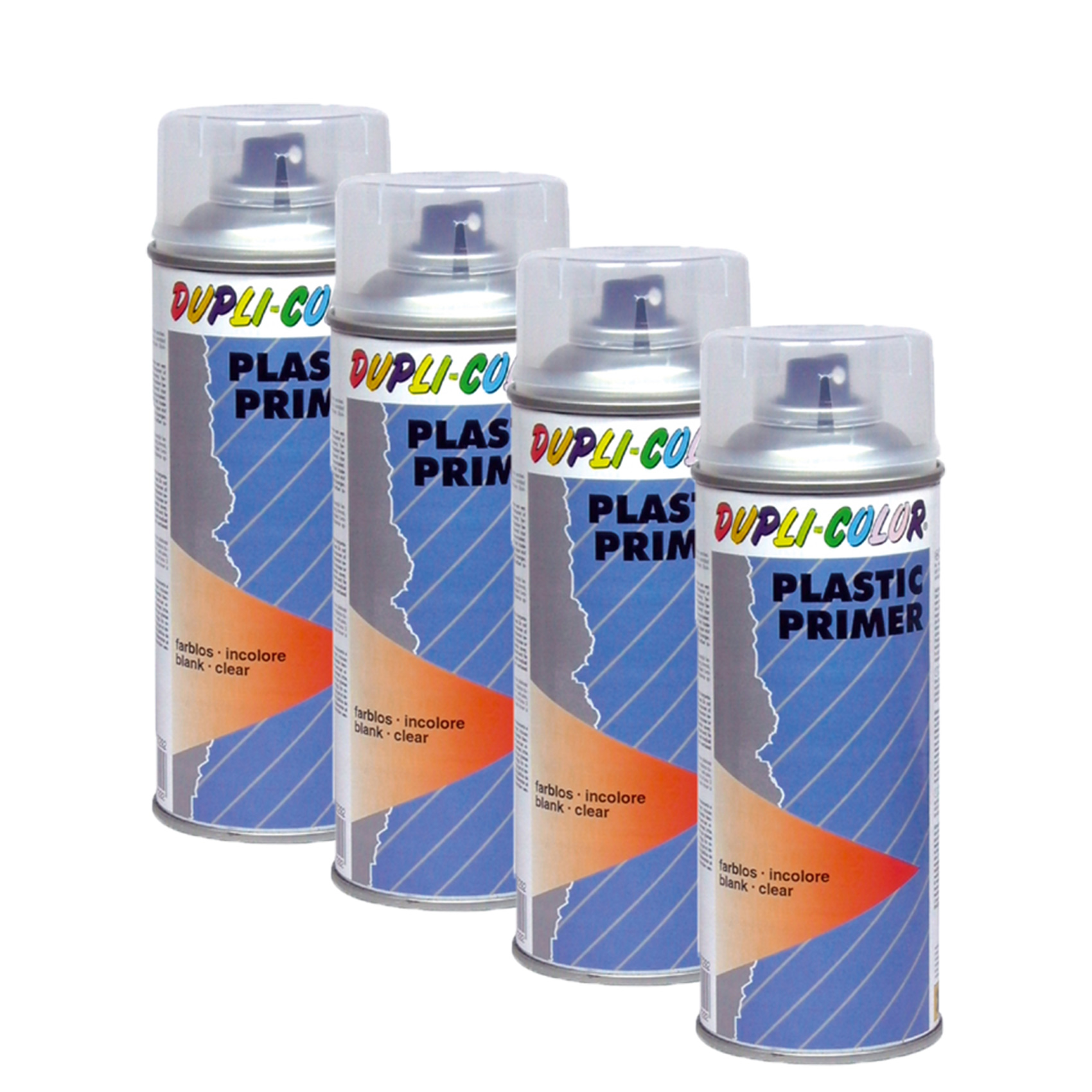 4x-DUPLI-COLOR-DC-PLASTIC-PRIMER-HAFTVERMITTLER-LACKIERUNG-HARTKUNSTSTOFF-150-ML