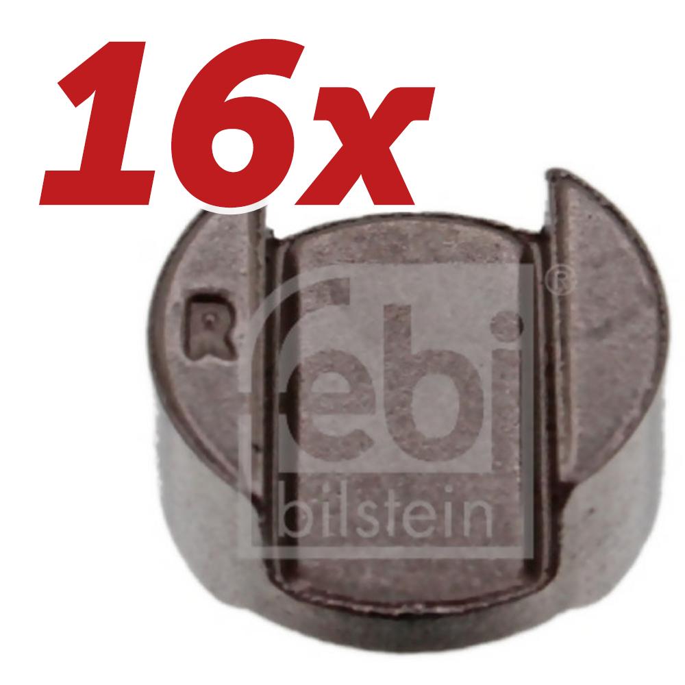16x-FEBI-BILSTEIN-Druckstueck-Einlass-Auslassventil