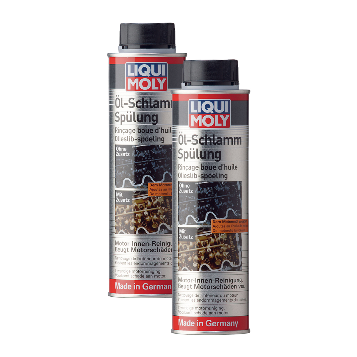 2x liqui moly 5200 l schlamm sp lung motorreiniger. Black Bedroom Furniture Sets. Home Design Ideas