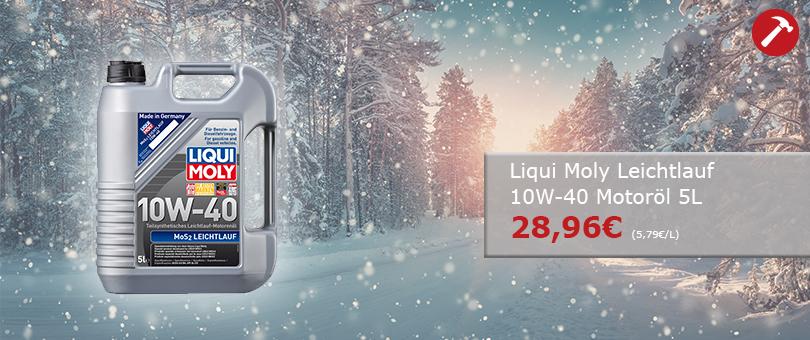 Liqui Moly 10W-40 Leichtlauf Motoröl