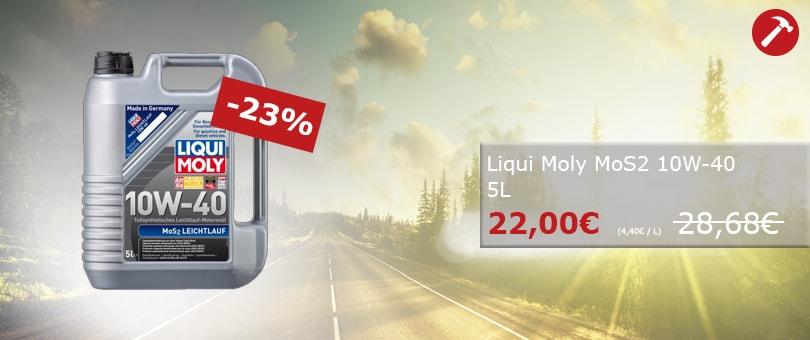 Unser Hammerpreis: Liqui Mily MoS2 10W-40 5L