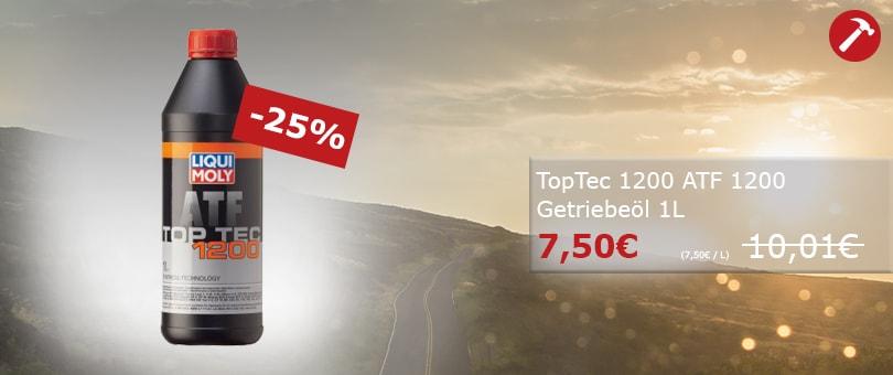 Unser Hammerpreis: Liqui Moly Top Tec ATF 1200 1L