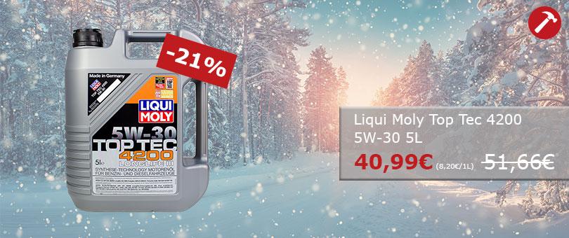 Hammerpreis - Liqui Moly TopTec4200 5L