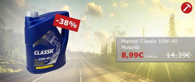 Unser Hammerpreis Mannol Classic 10W-40 MN7501-5