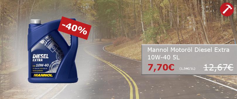 Mannol MANNOL MOTORÖL DIESEL EXTRA 10W-40